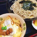 完食必須でね!お得に両方食べたい、かつ丼+そばセットのある10店! at 旭川