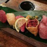 【大阪市内】肉好き必見!グルメも舌鼓を打つ絶品肉寿司6選