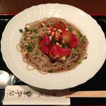 トマト麺コレクション! 蕎麦編