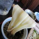 福岡のうどんは博多うどんだけやない【北九州うどん】も食べちゃってん!