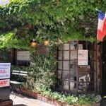 福岡市内の素敵な街の洋食屋さん。