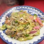 長崎県北地区での旨い太麺皿うどん探してみました。
