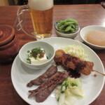 その6.仙台市営地下鉄沿線で晩酌セット。女性も一人飲みできるお店