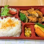 富山県のインドカレー弁当(2020春)