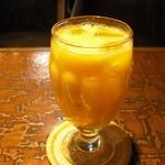 大阪 レトロ喫茶のホットドッグとミックスジュース