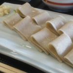 バレンタインデーに、お一人様でも楽しめる『素敵な蕎麦(側)メニュー』  in 福井県