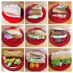 サンドイッチブームでバゲット食べ比べ。