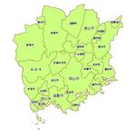 岡山27市町村食べ歩きマップ