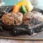 お肉が美味しいハンバーグ
