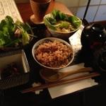 玄米ご飯&NO揚げ物のヘルシーランチ 京都