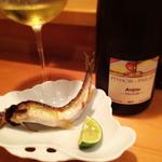 ワインと和の融合。ワインにこだわった和食のお店