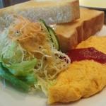 (再)モーニングで「オムレツ」に出逢えるカフェ in福井県
