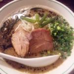 伊勢崎市・もう一度食べたい極旨とんこつラーメン#V3♡(山形県民旅情編)