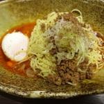 広島の汁なし担担麺