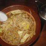 割りスープ付き濃厚味噌ラーメン+アルファ