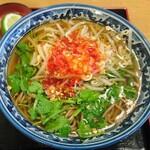 丸山製麺の麺が食べられる東京都区内の立ち食い蕎麦6店