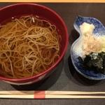 【東京】出汁がいのち~冷やかけ蕎麦が美味な店
