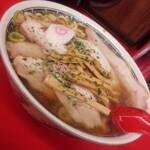南陽市・辛味噌ではありません♪美味しい赤湯醤油ラーメン#V6♡♡♡