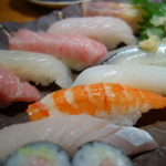 海が本当に遠い会津若松、魚貝をたべるならここ