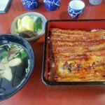 [えがりんオススメ]川越のうなぎ食べ比べ!