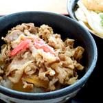 讃岐うどんと牛丼 #1