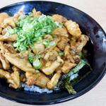 うどん県香川名物のかしわバター丼