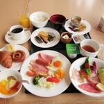 富山県中部(富山市)のシティホテル朝食