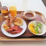 富山県中部(富山市)のビジネスホテル朝食
