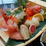 美味しいお魚を使った「御刺身(付き)定食」のお店