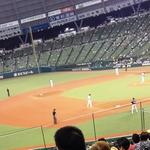 球場メシ…西武ドーム3塁側