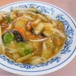 うどん県で食べる中華丼 #1