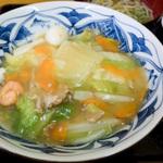 うどん県で食べる中華丼 #2
