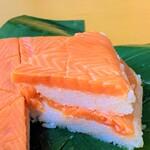 富山のお薦め鱒の寿司。
