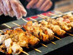炭火焼き鳥&炙り肉寿司食べ放題 個室居酒屋 楽楽 渋谷店
