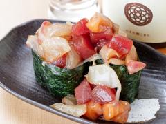 寿司と串揚げ わが蔵