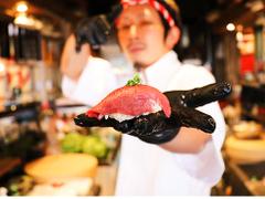 名古屋 名駅 肉寿司