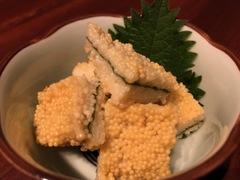 日本酒chintara 燻ト肉