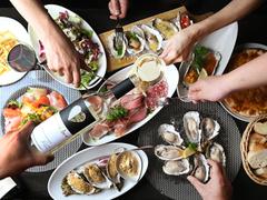 牡蠣とワインの飲み放題 サンビーノ トト