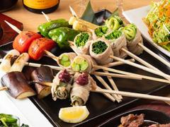 個室居酒屋 串焼と肉寿司 かわら屋