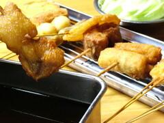 大阪串かつ もつ鍋 ホルモン焼 串もん てき