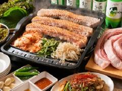 本場 韓国食堂 豚の貯金箱