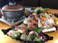貝と魚と日本酒 貝男