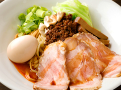 汁なし担担麺と魚介そば sirusi