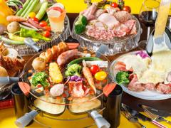 肉バル ローストビーフ&チーズ食べ放題 JUSTMEAT 新宿本店