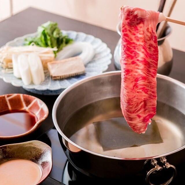 すき焼き・しゃぶしゃぶ・懐石料理 小豆(あずき) - 上野広小路(しゃぶしゃぶ)の写真(食べログが提供するog:image)