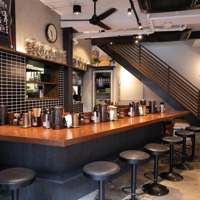 96348249 - あの有名なカップラーメン辛辛魚を作った支店。 福岡にある辛いラーメン、 麺や兼虎