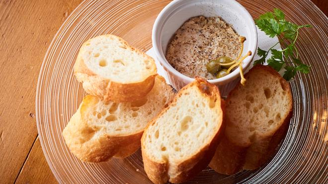 ブルゴンディセ ヘイメル - 料理写真:本日の自家製リエット