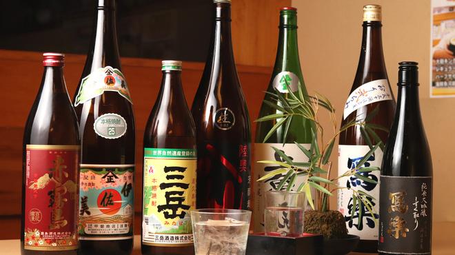 ハマグルメ とも栄鮨 - ドリンク写真:グラスで160cc程です