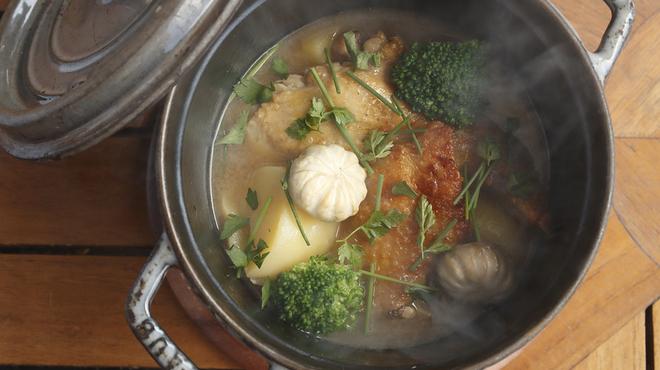 グランド キッチン - 料理写真:【2019年】大山鶏モモ肉とシードルのフリカッセ