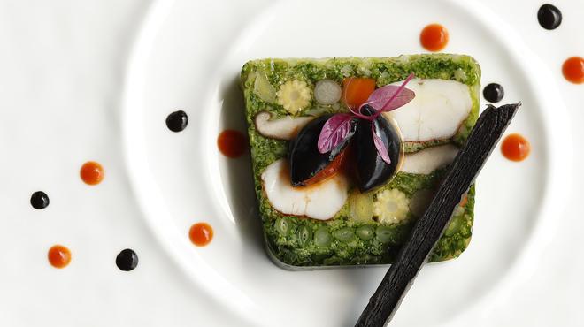 グランド キッチン - 料理写真:【2019年】オマール海老と彩り野菜のテリーヌ